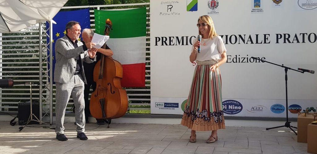 Gabriele Cirilli e sindaco Antonella Di Nino