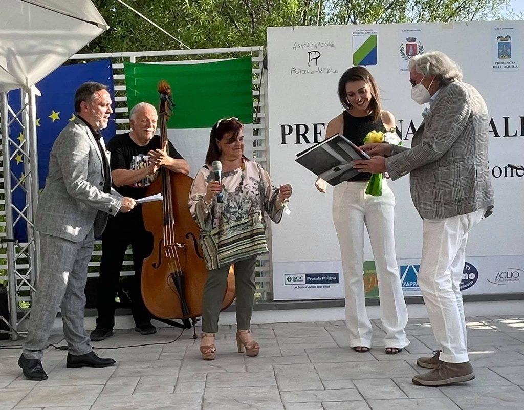 Gabriele Cirilli, on. Stefania Pezzopane, Simona Molinari, Ennio Bellucci