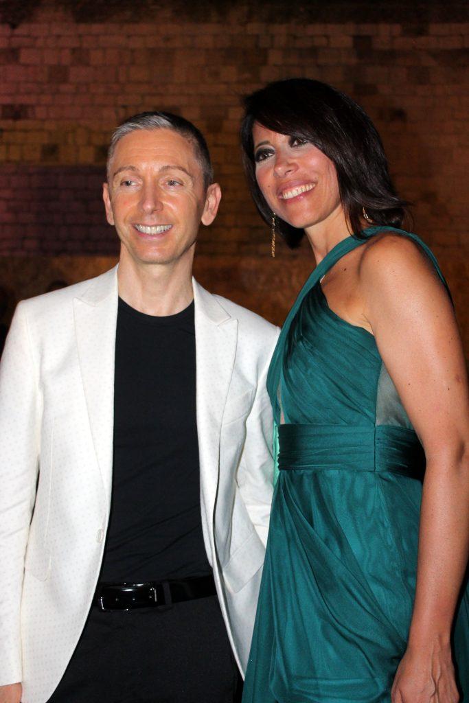 Gianluca Mech e Nunzia De Girolamo