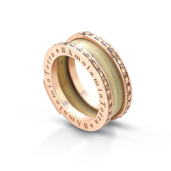Lisa Tibaldi Terra Mia Serie Circle Shine anello 2021