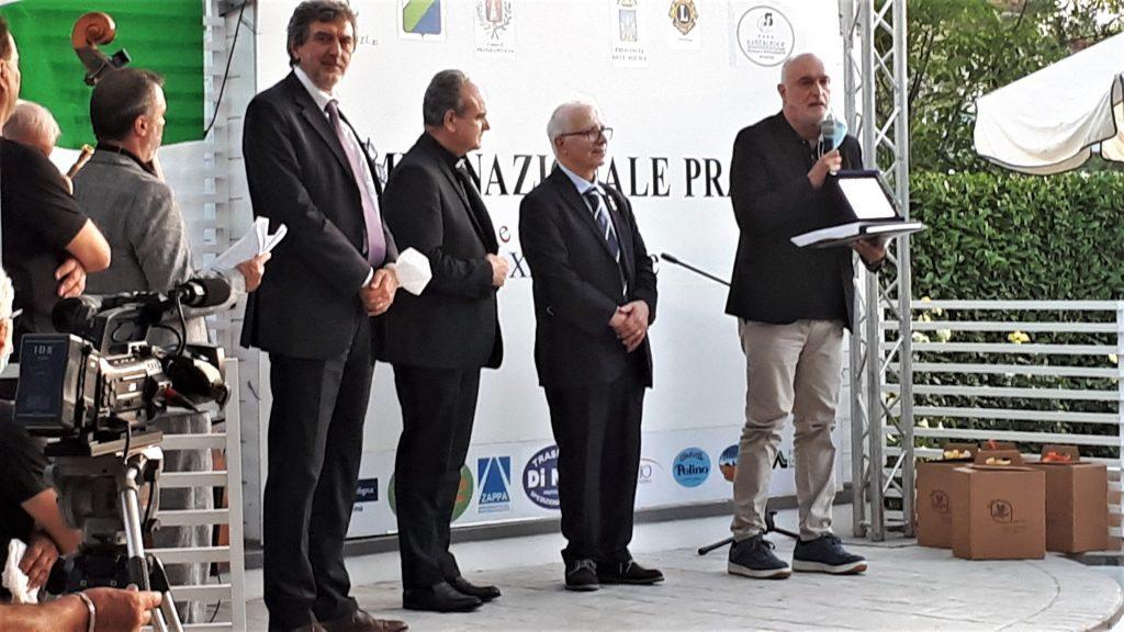 Marsilio, mons. Fusco, prof. Haidar, prof. Barone