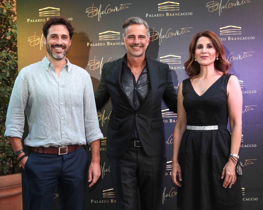Giammarco Sicuro, Beppe Convertini e Barbara Capponi