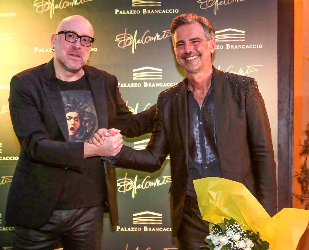 Mario Biondi e Beppe Convertini