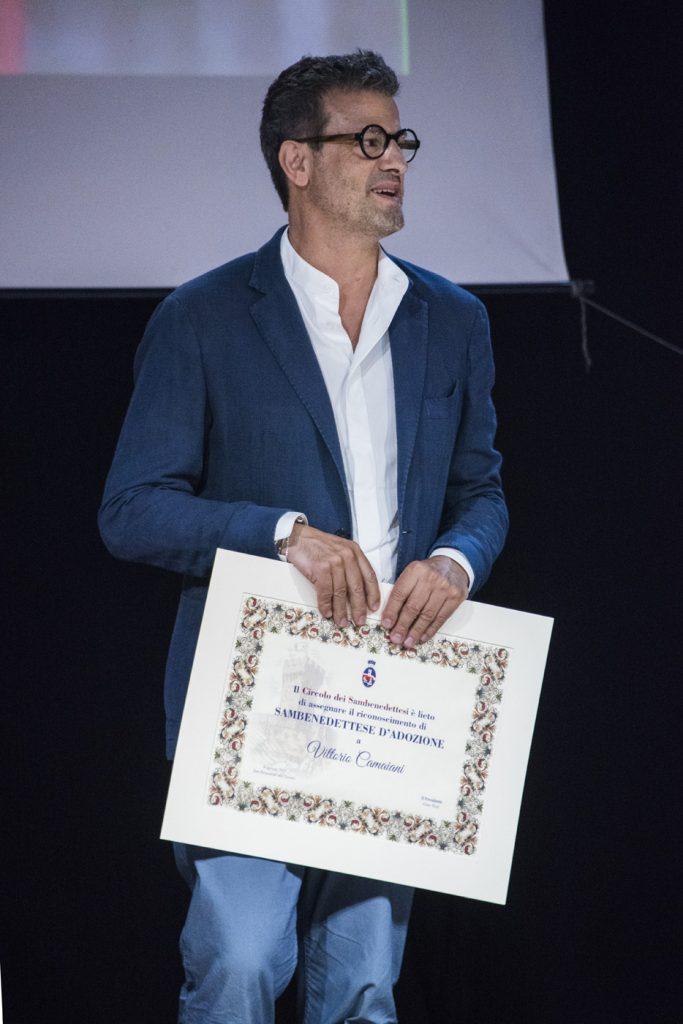Vittorio Camaiani cittadino d'adozione SBT
