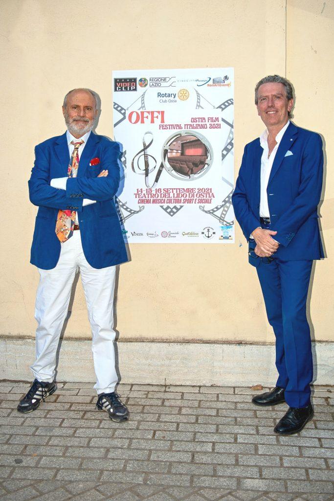 Campanella e Massimiliano Mambor al Festival di Ostia